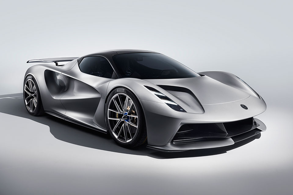Lotus Evija All-electric Supercar Revealed