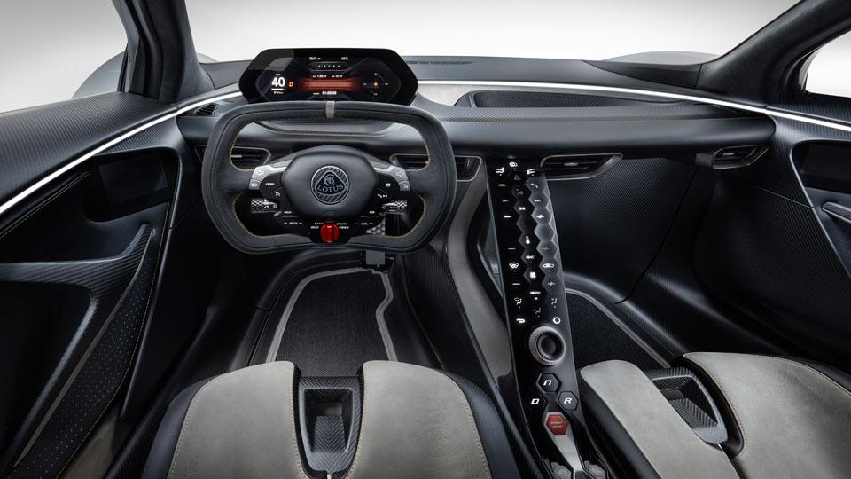 Lotus Evija All-electric Supercar Revealed