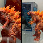 NECA 2019 Burning <em>Godzilla</em> Figure Spotted At San Diego Comic-Con