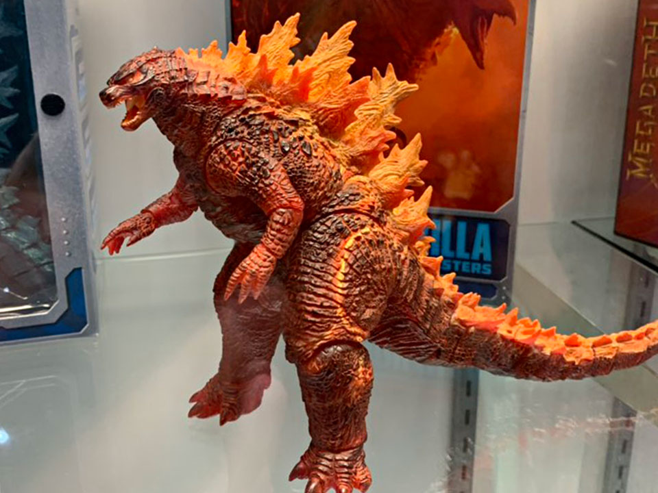 NECA 2019 Burning Godzilla Figure