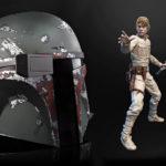 Hasbro <em>Star Wars</em> The Black Series Boba Fett Helmet, Hyperreal Luke Skywalker And More