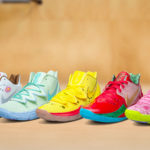 Official Look At The Upcoming Adorable Nike Kyrie x <em>Spongebob Squarepants</em> Collection