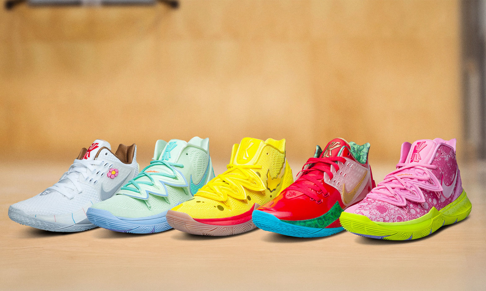 Nike Kyrie x Spongebob Squarepants Collection