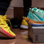Nike x <em>Spongebob Squarepants</em> Kyrie Sneaker Collection Drops In August