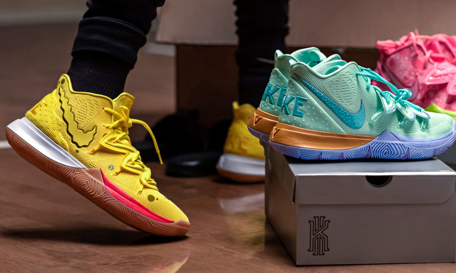 Nike x Spongebob Squarepants Kyrie Sneaker