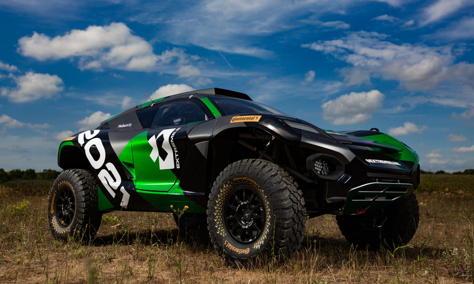 Odyssey 21 Extreme E Off-Road Race Car