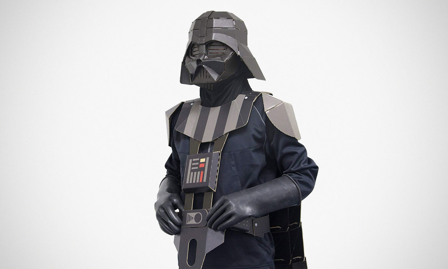 Showa Note Cardboard Darth Vader Costume