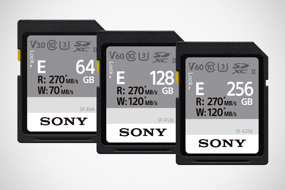 Sony SF-E series SD Card