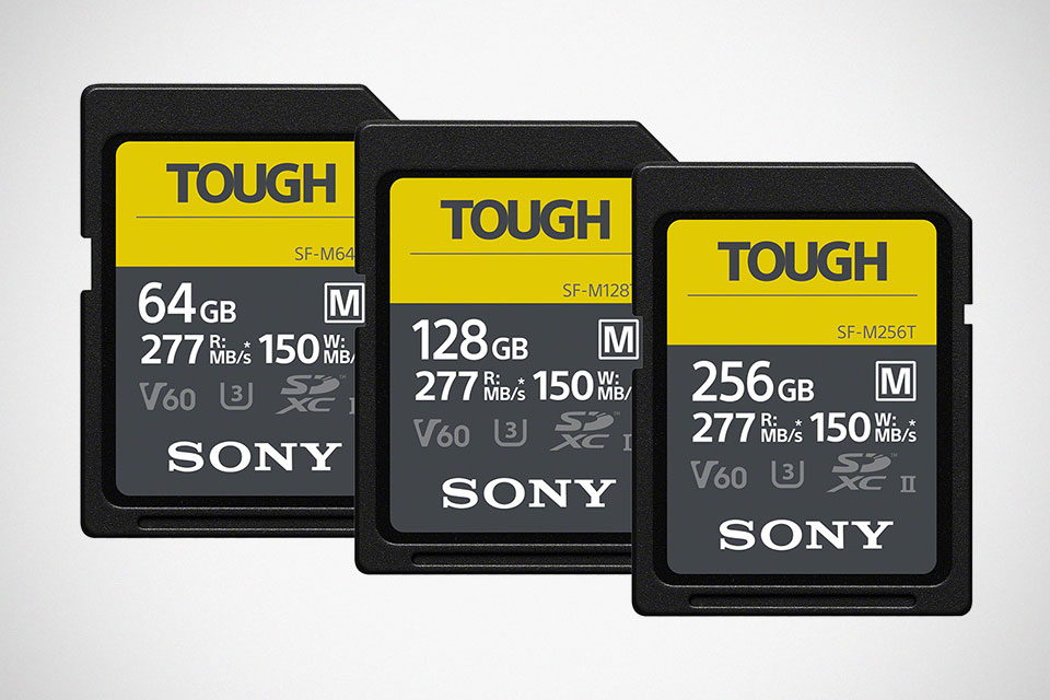 Sony SF-M Series TOUGH Specification SD Card
