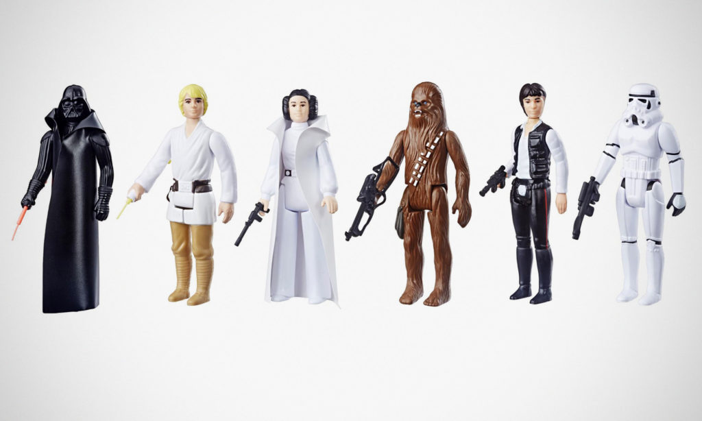 Star Wars Retro Collection Action Figures Wave 1