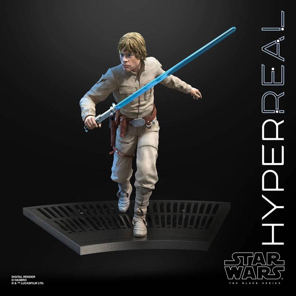 Star Wars The Black Series Hyperreal Luke Skywalker Figure