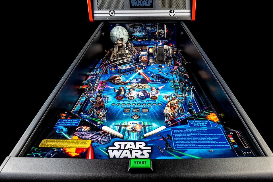 Stern Pinball Star Wars Pin Pinball Machine