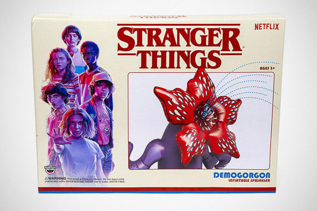Stranger Things Demogorgon Yard Sprinkler