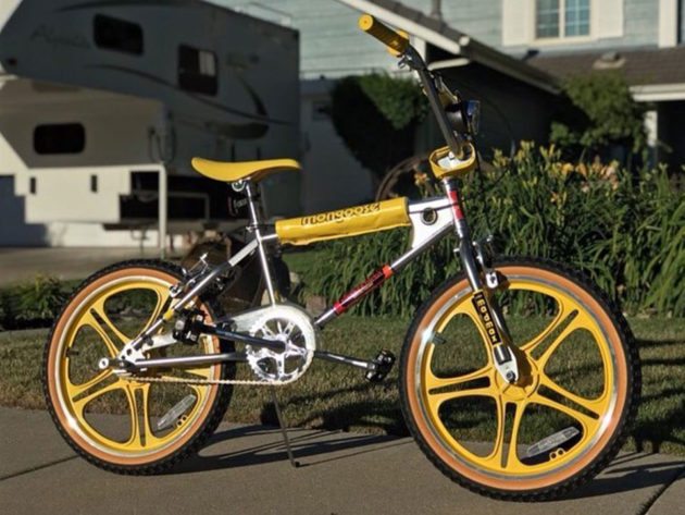 Stranger Things Mongoose Max Bike