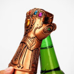 Thanos Infinity Gauntlet Bottle Opener: Snapping Won't Remove The Bottle Cap