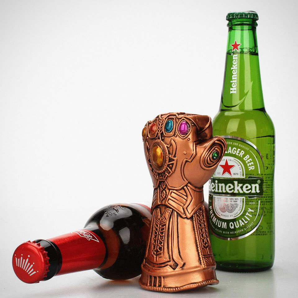 Thanos Infinity Gauntlet Bottle Opener