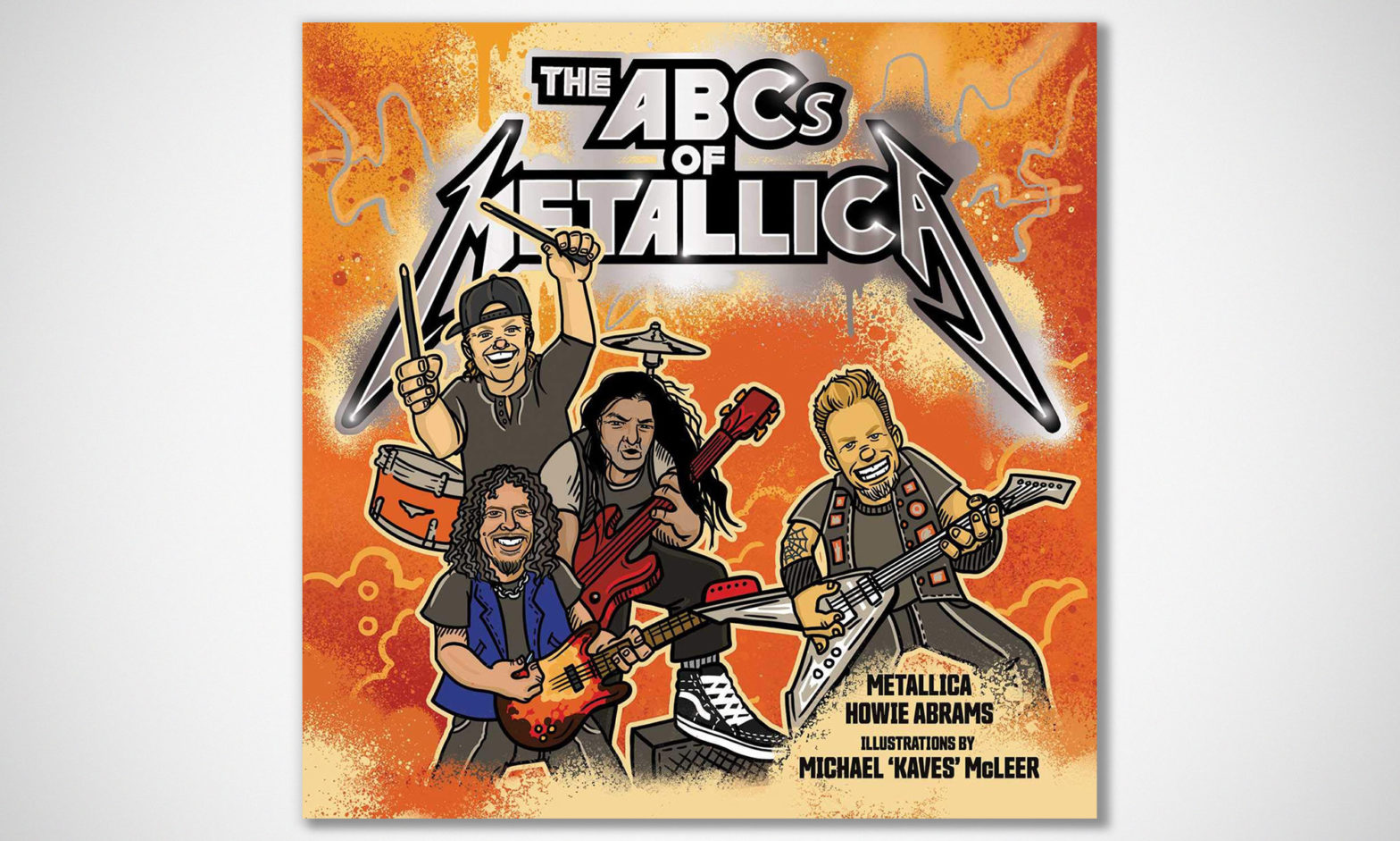 The ABCs of Metallica Children Book