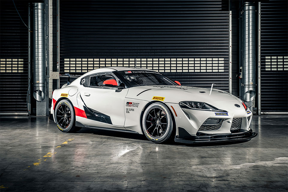 Toyota GR Supra GT4 Race Car
