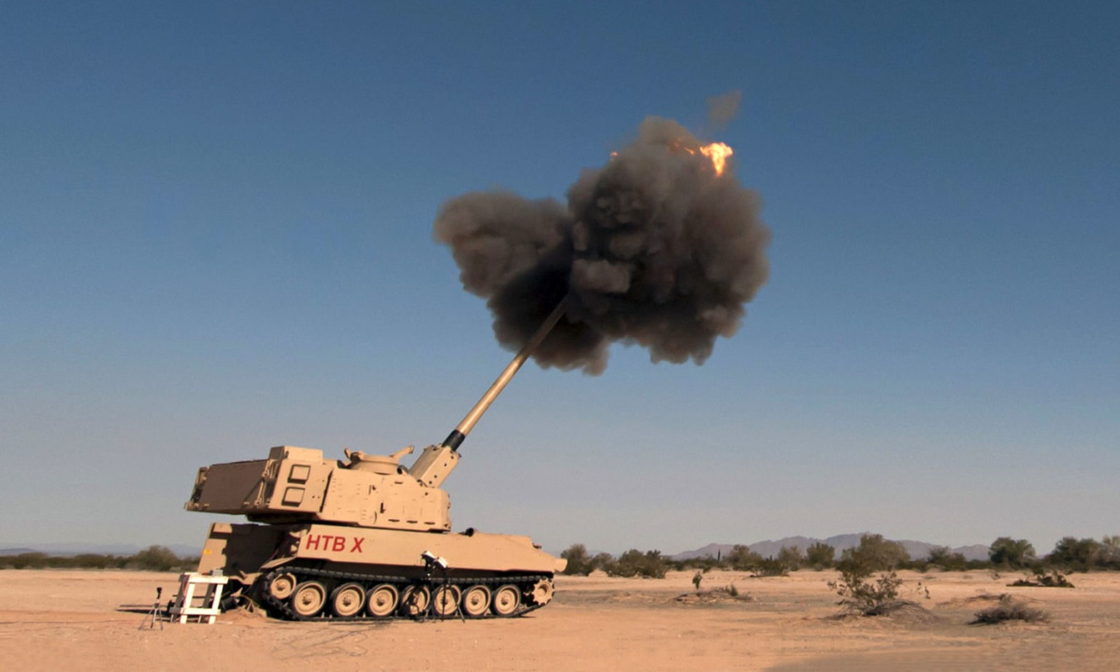 U.S. Army M1299 Self-propelled Howitzer