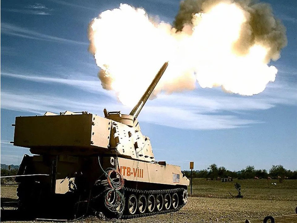 U.S. Army M1299 Self-propelled Howitzer