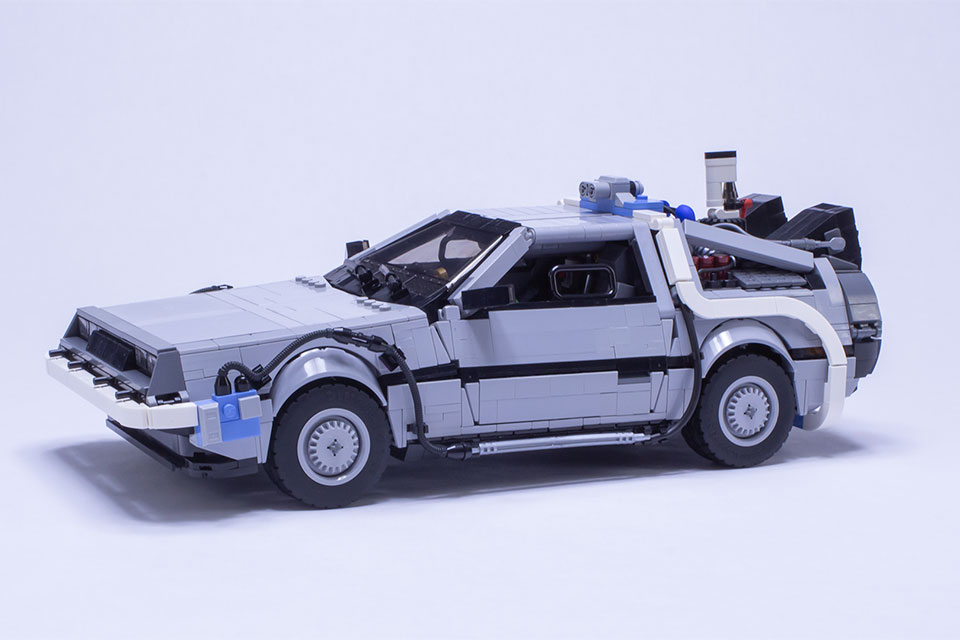 UCS DeLorean Time Machine by Dave Slater