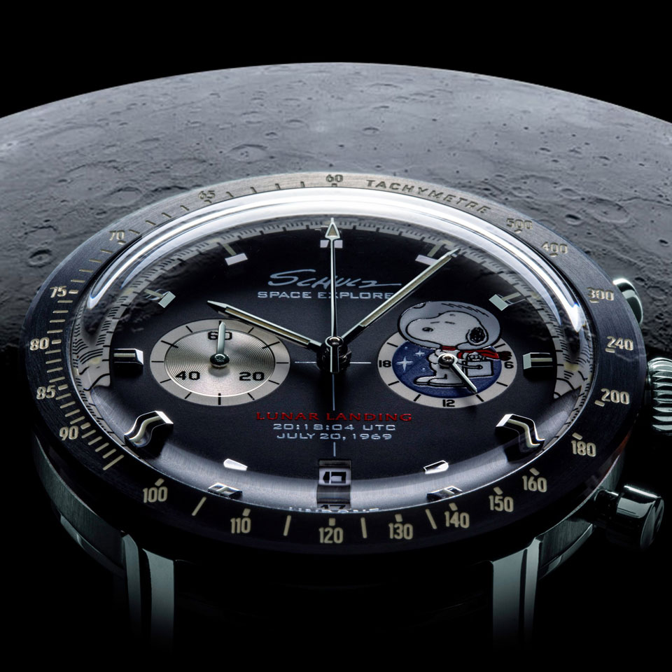 Undone x Peanuts Lunar Mission Watches