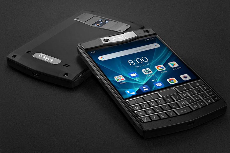 Unihertz Rugged QWERTY Smartphone Kickstarter