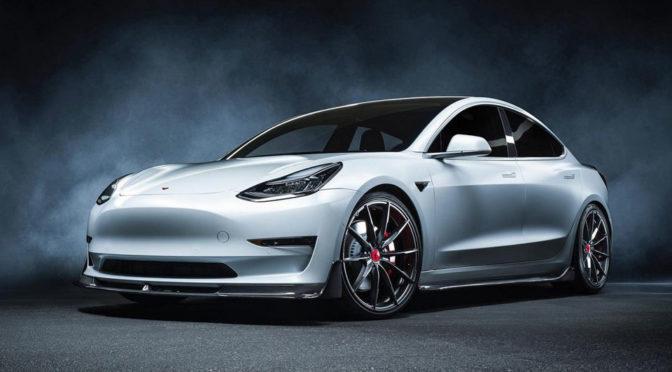 Vorsteiner Tesla Model 3 Body Kit
