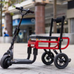 This New Electric Folding Mobility Scooter From eFOLDi Weighs Just 33 lbs