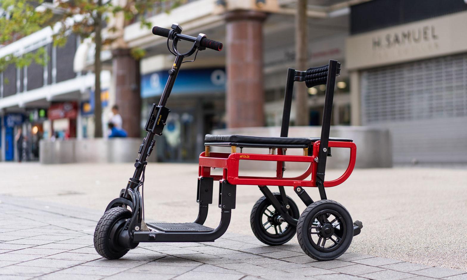 eFOLDi Lite Folding Mobility Scooter