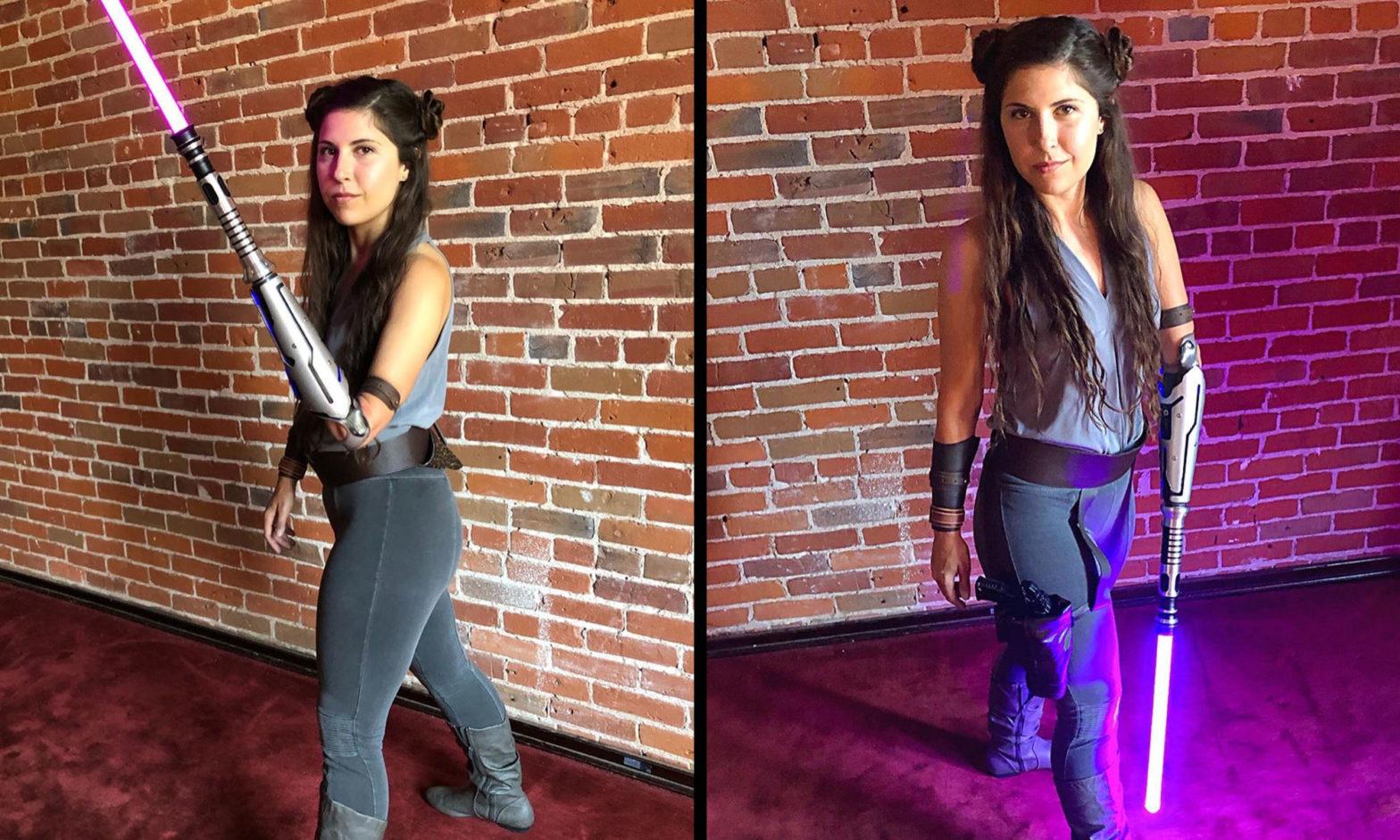 Angel Giuffria Bionic Arm Lightsaber Arm