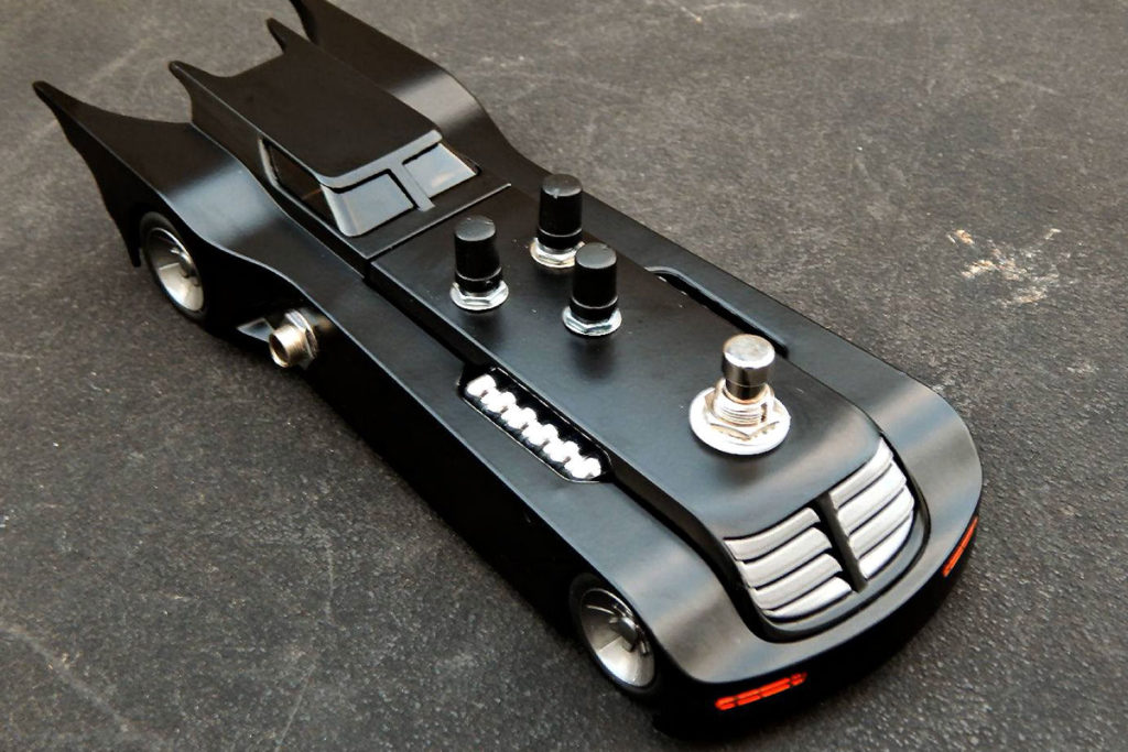 Batman Batmobile RAT2 Distortion Pedal
