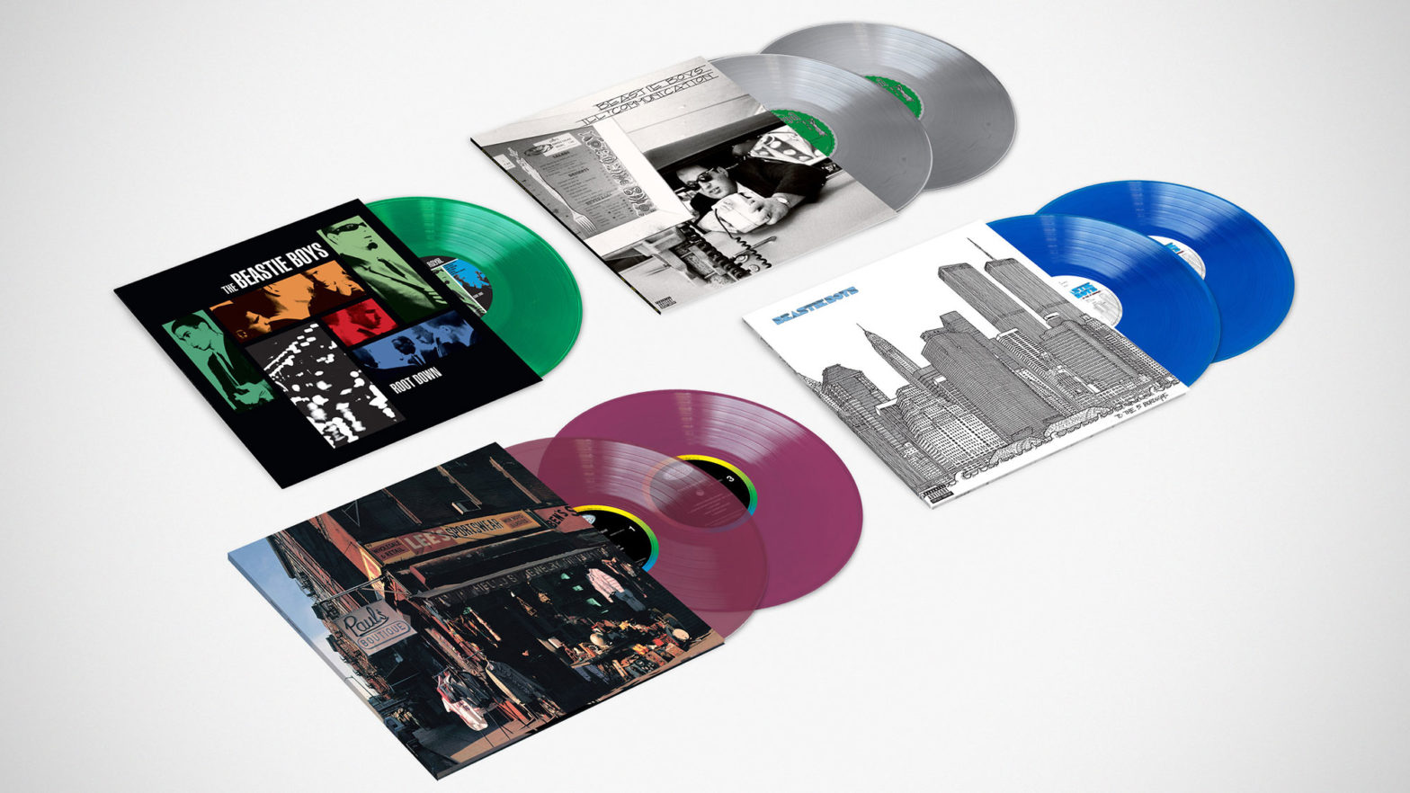 Beastie Boys Ltd Ed Colored Vinyl