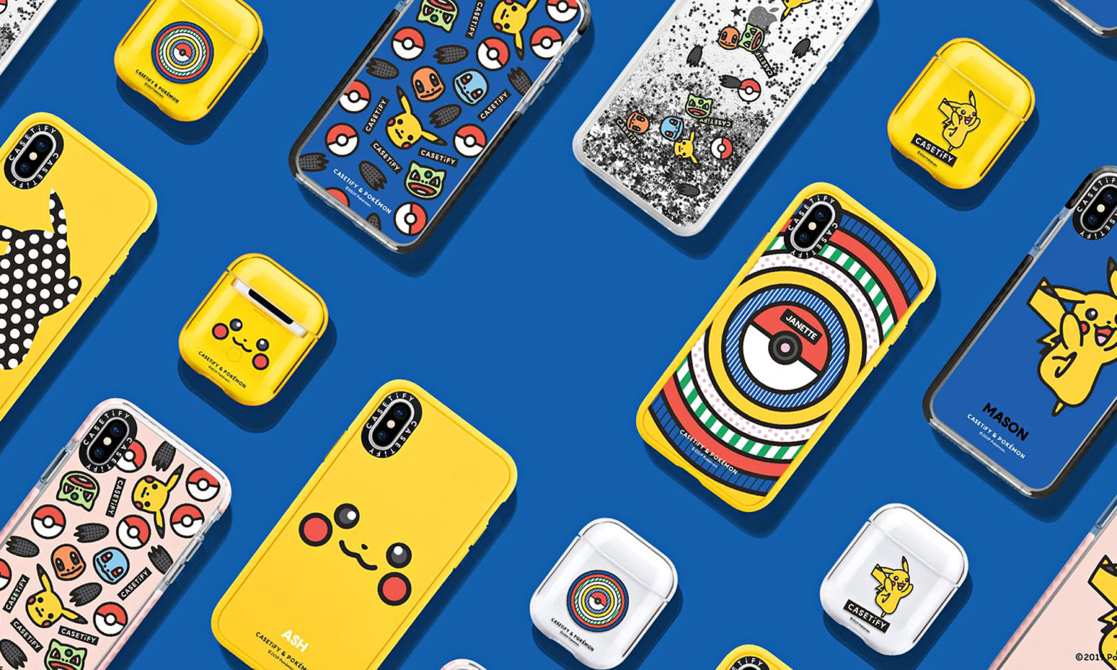 CASETiFY x Pokémon The Icons by Craig & Karl