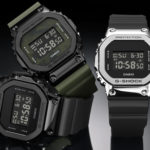 CASIO Gives Iconic Square Case G-Shock The Stainless Steel Treatment… On The Bezel