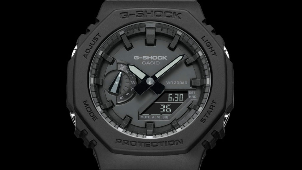 CASIO G-Shock GA2100 Analog-Digital Watch