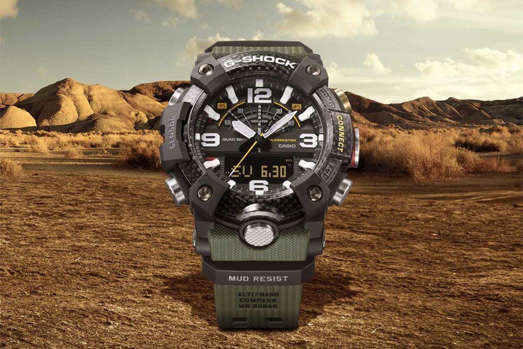 CASIO G-Shock Master of G Mudmaster Watches