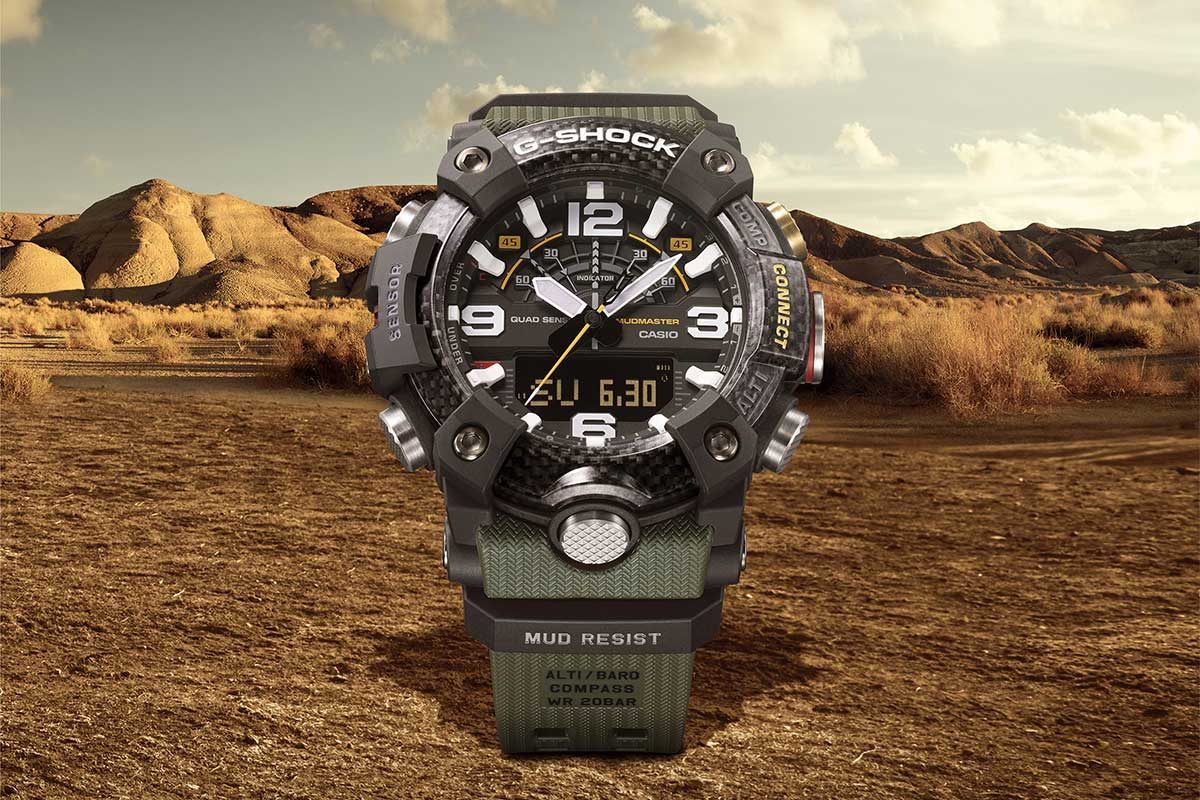 CASIO G-Shock Master of G Mudmaster Watches