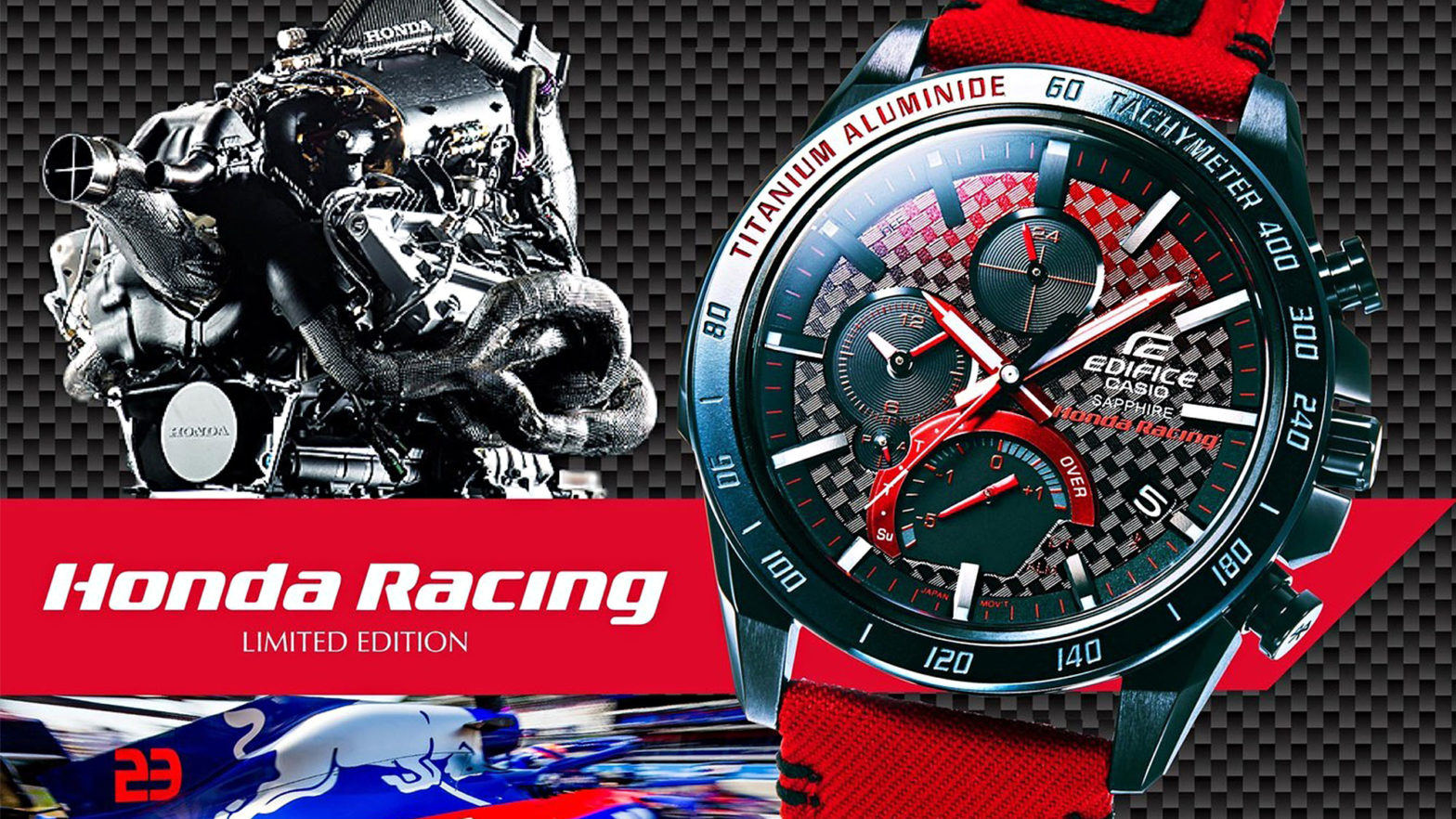 Casio EDIFICE Honda Racing and Scuderia Toro Rosso Team