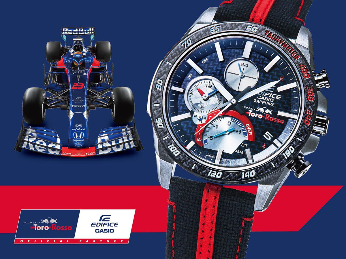 Casio EDIFICE Honda Racing and Scuderia Toro Rosso Team