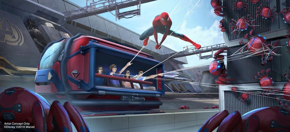 Disneyland Marvel Themed Attractions