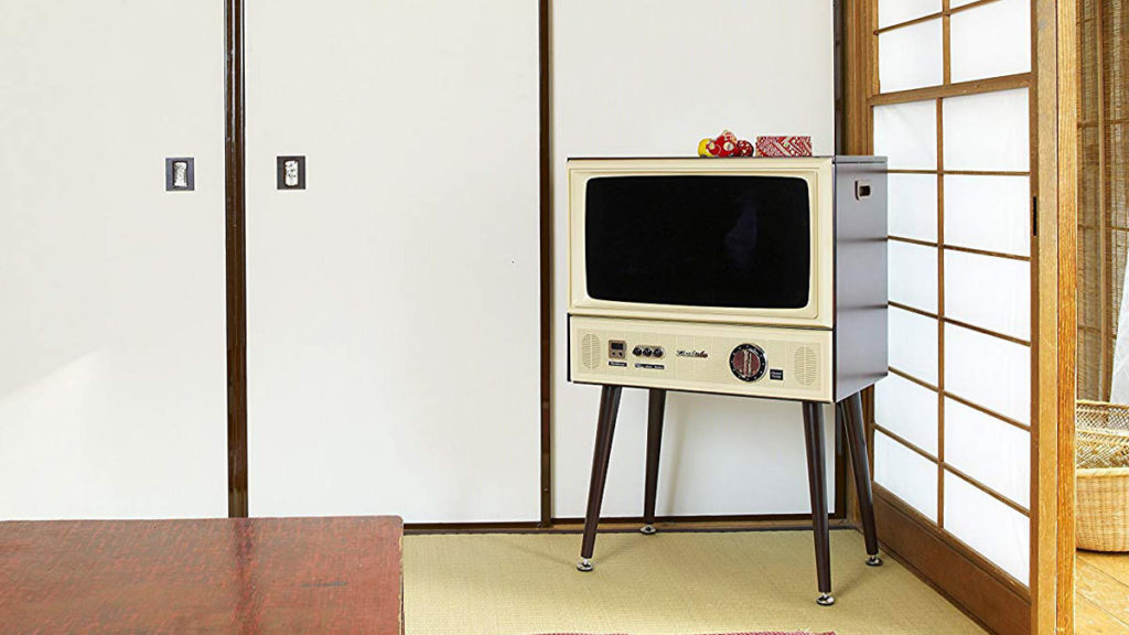 Doshisha Vintage Design HD LCD TV