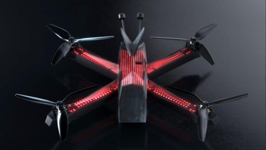 Drone Racing League Race4 Street Racing Drone