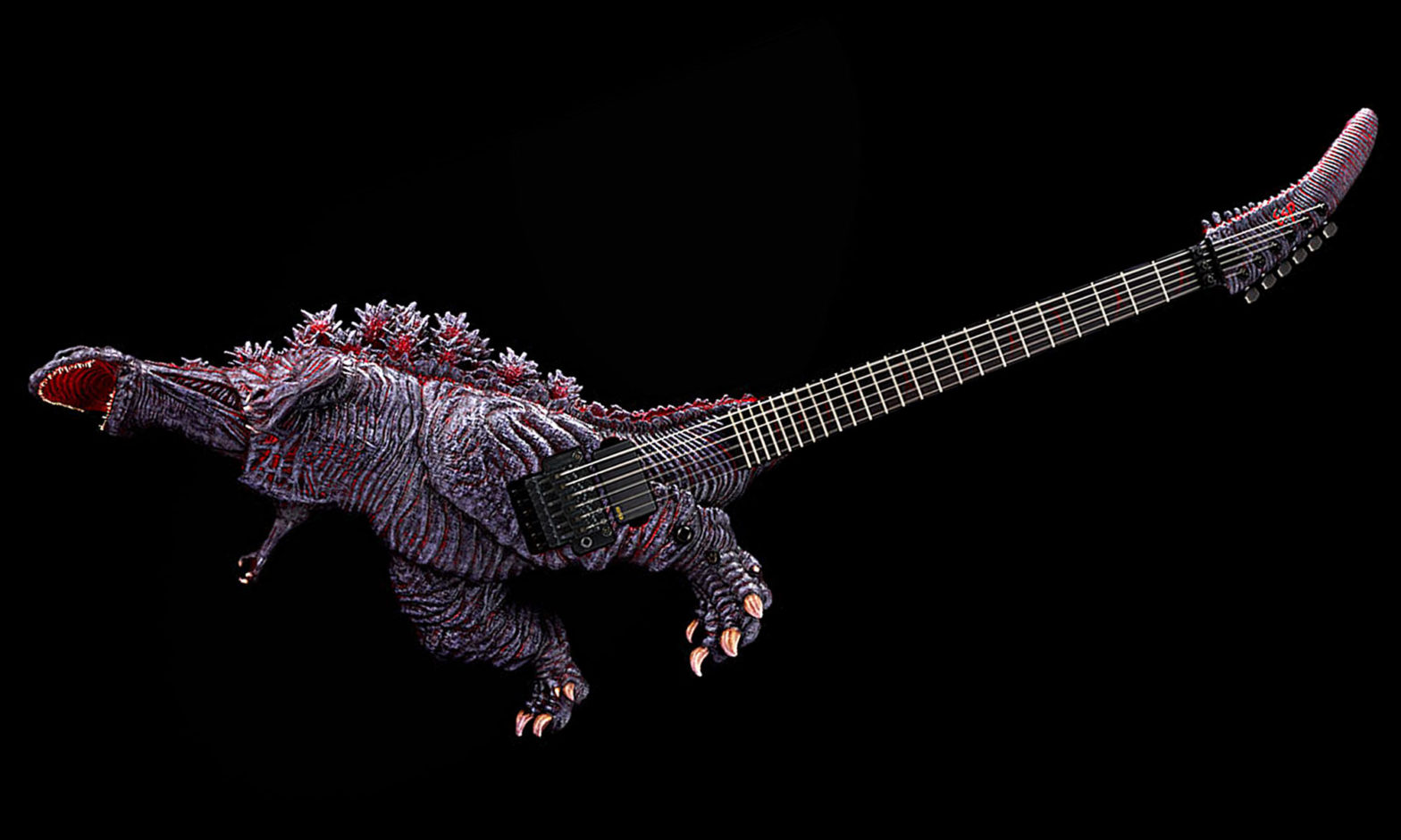 ESP Godzilla Guitar Awakening Version
