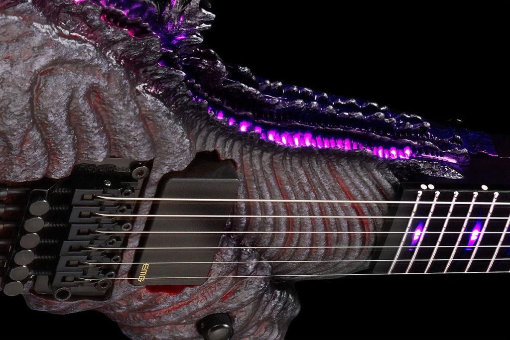 ESP Godzilla Guitar Awakening Version