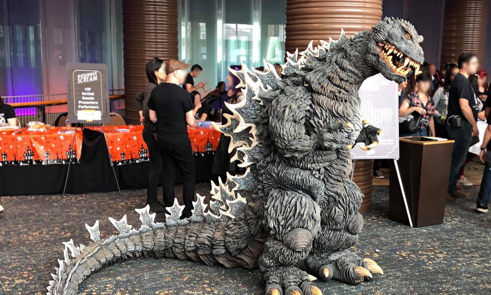 Fusion Godzilla Cosplay by kaijukrys
