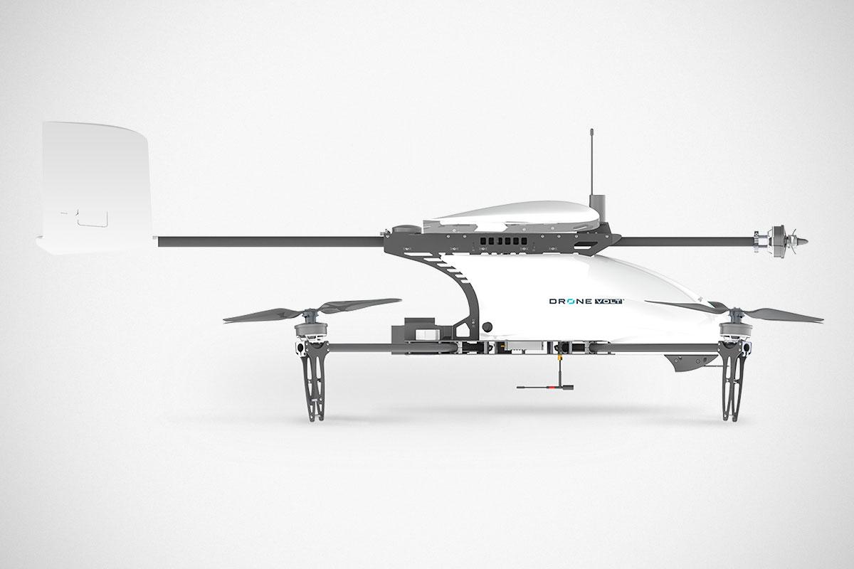 Heliplane v.2 Drone Hybrid VTOL
