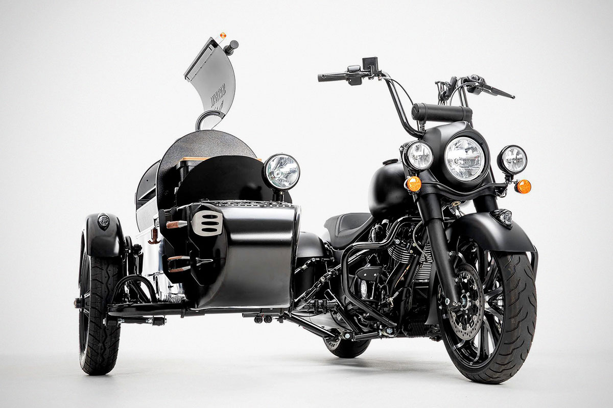 Indian Motorcycle x Traeger Grills Motorcycle