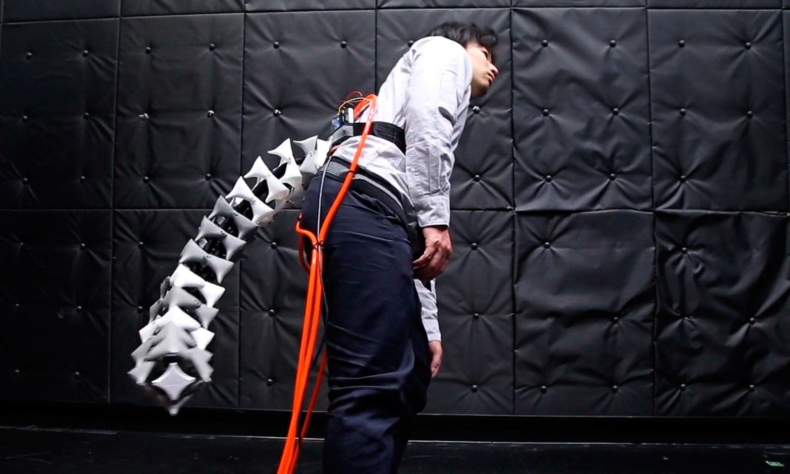 Keio University Wearable Robotic Tail