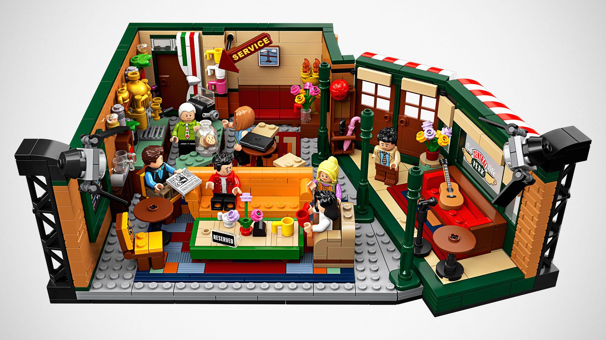 LEGO Ideas Central Perk Based On NBC Sitcom Friends Will ...